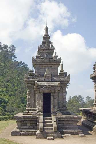 temple at gedung songo-AsiaPhotoStock