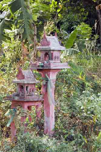 red spirit house-AsiaPhotoStock