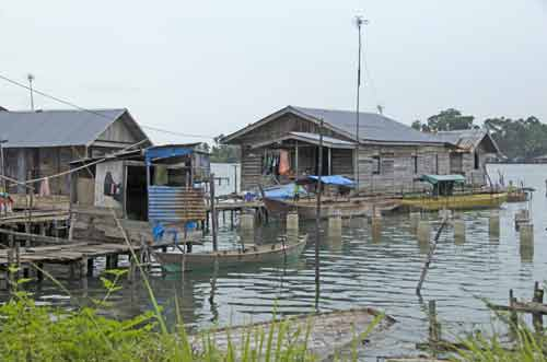 stilt houses batam-AsiaPhotoStock