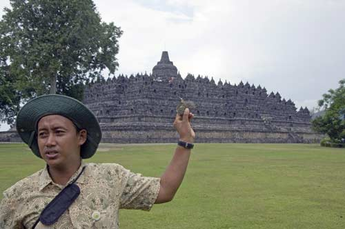 story at borobudur-AsiaPhotoStock