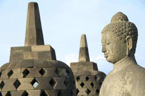 stupa and buddha-AsiaPhotoStock