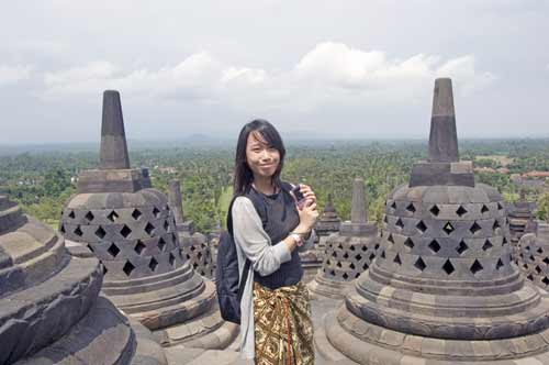 summit of borobudur-AsiaPhotoStock