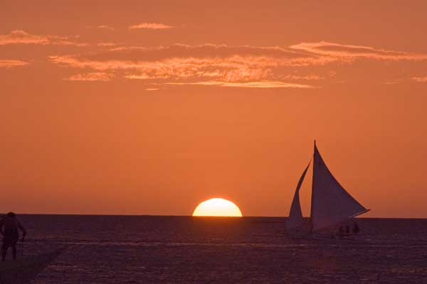 sunset at sea-AsiaPhotoStock