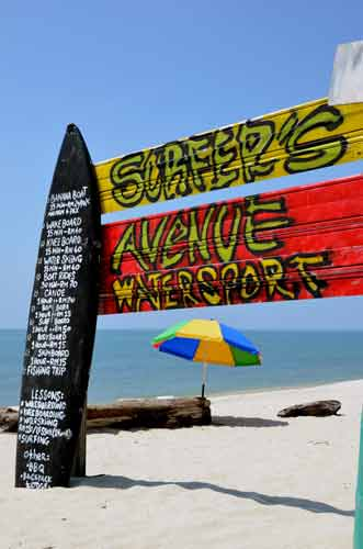 surf sign-AsiaPhotoStock