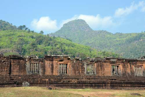 terraces at wat phou-AsiaPhotoStock