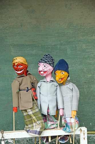 three puppets-AsiaPhotoStock