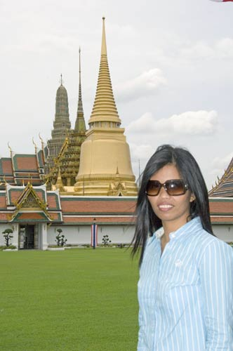 tourist at grand palace-AsiaPhotoStock