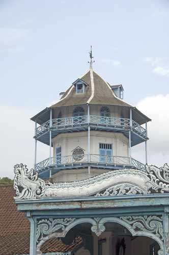 tower at solo kraton-AsiaPhotoStock