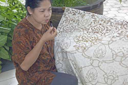 traditional batik solo-AsiaPhotoStock