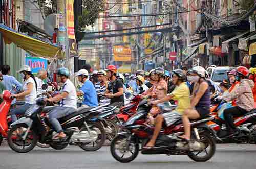 traffic ho chi minh-AsiaPhotoStock