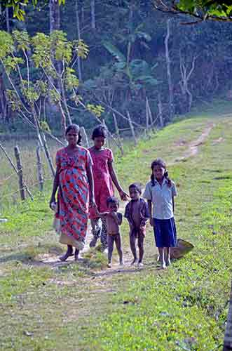 tribal family wayanad-AsiaPhotoStock