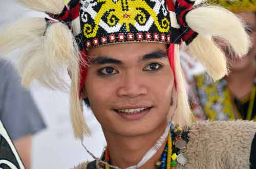 tribesman in kuching-AsiaPhotoStock