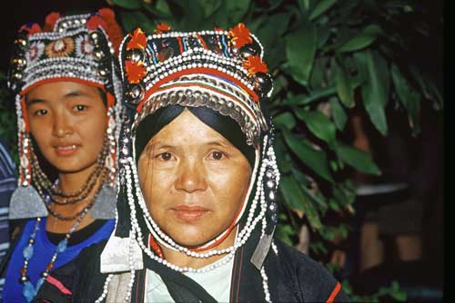 two akha women-AsiaPhotoStock