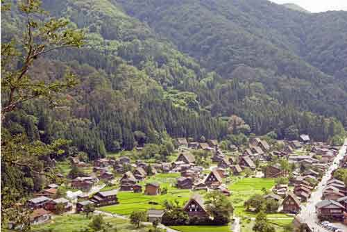 village of shirakawa go-AsiaPhotoStock