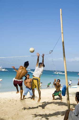 beach volley ball-AsiaPhotoStock