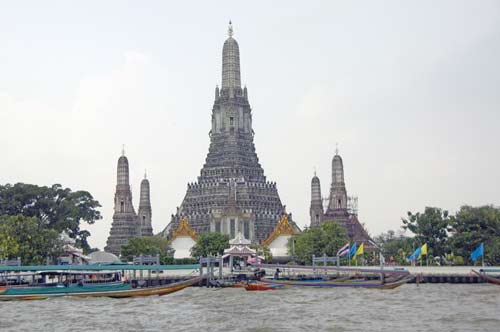 wat arun from river-AsiaPhotoStock