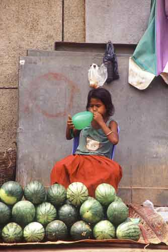 water melon seller-AsiaPhotoStock