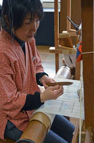 weaving in japan-AsiaPhotoStock