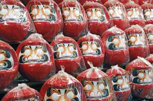 wrapped daruma-AsiaPhotoStock